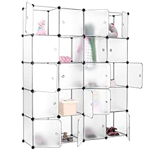 finether 20 cube penderie armoire storage modulable meuble. Black Bedroom Furniture Sets. Home Design Ideas