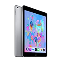 Apple iPad (9.7 Inch, WiFi, 32GB) with Facetime - Space Gray (Latest Model)