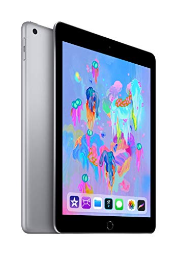 Apple iPad (Wi‑Fi + Cellular, 128GB) - Space Grau - Facetime Wi