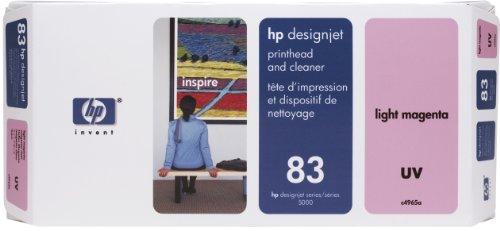 HP 83 Tête d'impression d'origine avec nettoyeur 1 x magenta clair