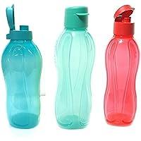Tupperware–Combo de 1pcs 2L botella de agua Fliptop con 2pcs 750ml Fliptop botellas, dispensador de agua fría