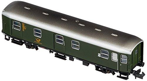 Arnold HN4258 2-achsiger Postwagen der DB, Bauart Post 2-a/14, Epoche III Modellbahn, Grün