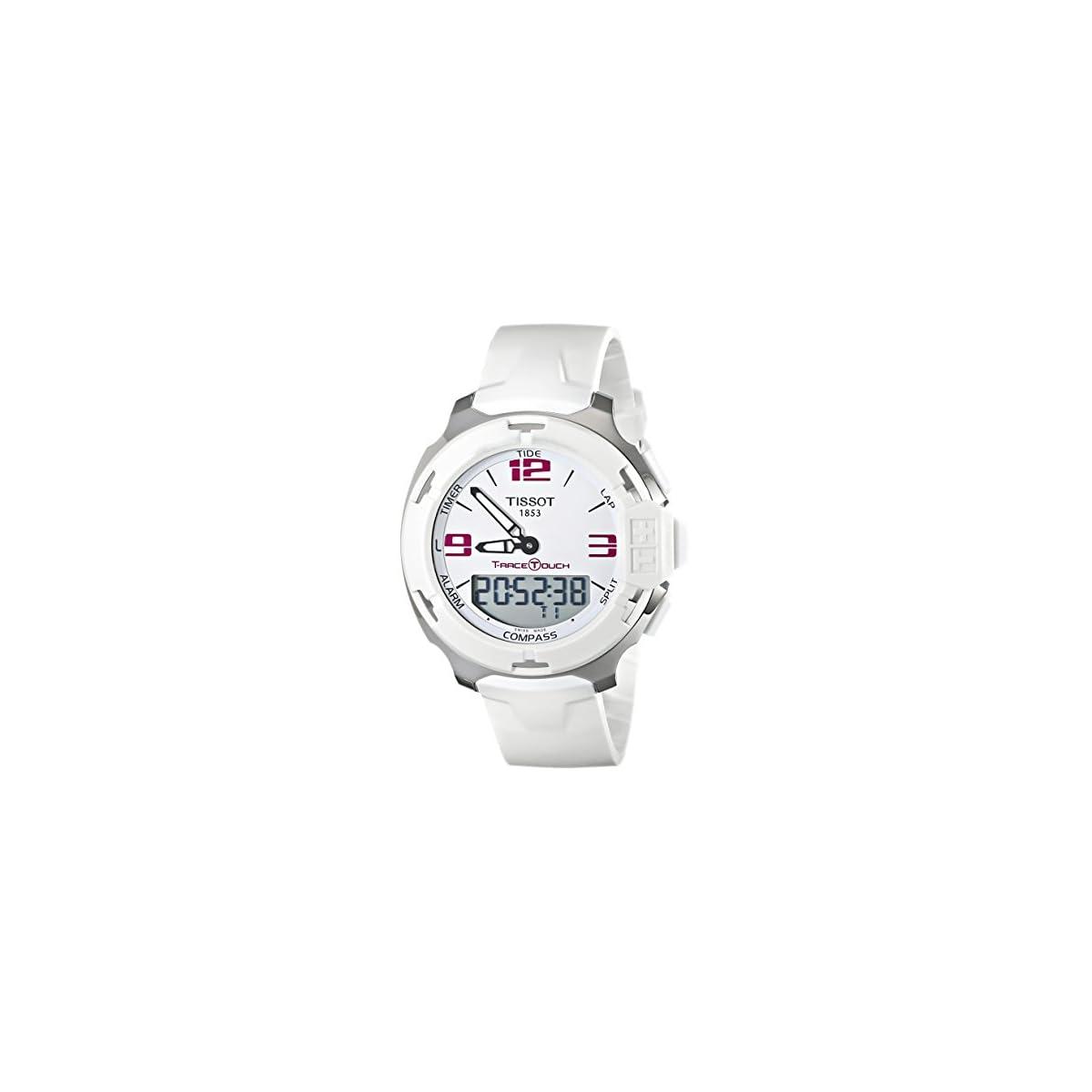 41NtCfZvz1L. SS1200  - Tissot Reloj para Unisex de con Correa en Goma TIST0814201701700