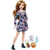 Mattel Barbie FHY90 Barbie Skipper Babysitters Inc. Puppe + Handy + Fläschchen