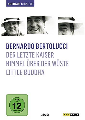 Bernardo Bertolucci - Arthaus Close-Up (Der letzte Kaiser/Himmel über der Wüste/Little Buddha) [3 DVDs]