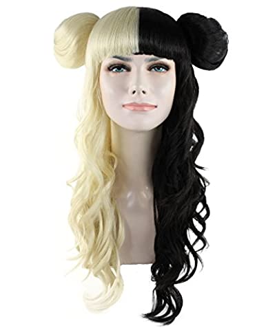 Exclusive! Melanie Martinez Style Alphabet boy Black & Blonde Costume Wig HW-1103