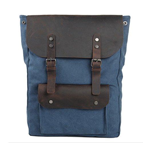 Männer Retro-Stofftaschen Schulranzen A2