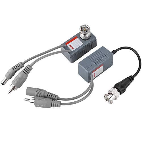 AV-Verlängerungskabel,Vorverstärker für Überwachungskamera Ton Pickup für Auto Einparkhilfe Rückfahrkamera LKW PKW KFZ Monitor Kamera - Universal-netzteil Rca