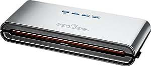 ProfiCook PC-VK 1080 Edelstahl-Vakuumiergerät, Lebensmittel bleiben vakuumiert bis zu 8x länger frisch