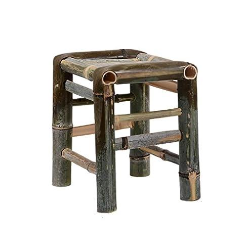 Home Cinema Conforama - Heruai Chaise en tabouret en bambou Chinois