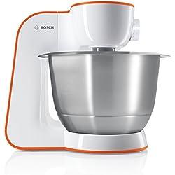 Bosch MUM54I00 - Batidora (Naranja, Acero inoxidable, Color blanco)