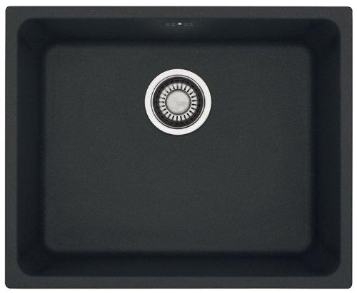 Franke Kubus KBG 110-50 Fragranite DuraKleenPlus 1250176636 – Fregadero, montaje bajo encimera, color negro