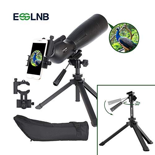 ESSLNB Telescopio Terrestre 20-60X80 Telescopio BAK4