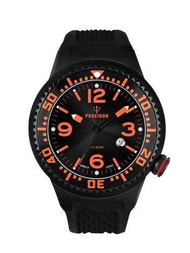 Kienzle Herren-Armbanduhr POSEIDON L Analog Quarz Silikon K2093043113-00407