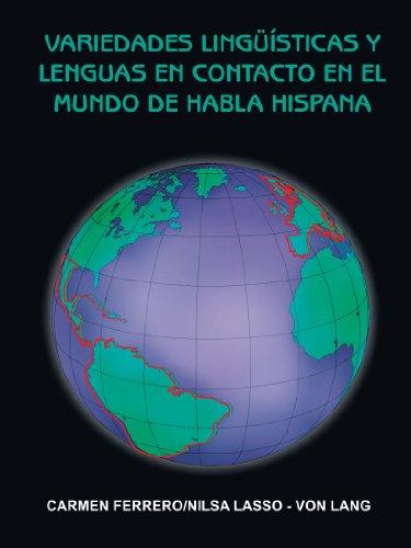 Preisvergleich Produktbild Variedades Lingüisticas Y Lenguas En Contacto En El Mundo De Habla Hispana