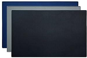 Tapis De Nourriture Pour Animaux, Earthbay 60 x 40CM Tapis d'alimentation en Silicone, Placemat De Bol De Chien/Chat, Carré Étanche Anti-Dérapant Pour Gamelle Tapis d'Alimentation Pour Les Animaux