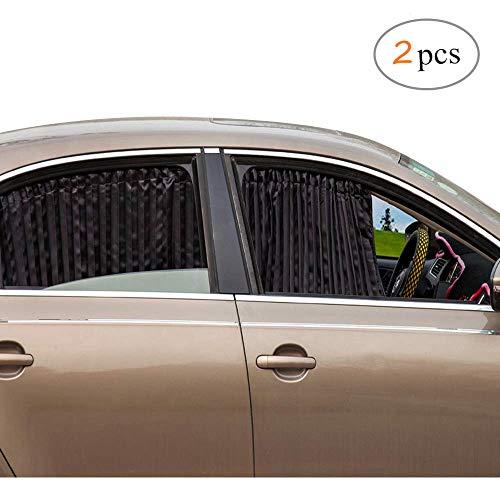 ZATOOTO Sonnenschutz fürs Auto Vorhang, Sonnenschutz Magnetisch für UV-Schutz, Hitzeschutz, Schwarz (Sie Heben Das Auto)