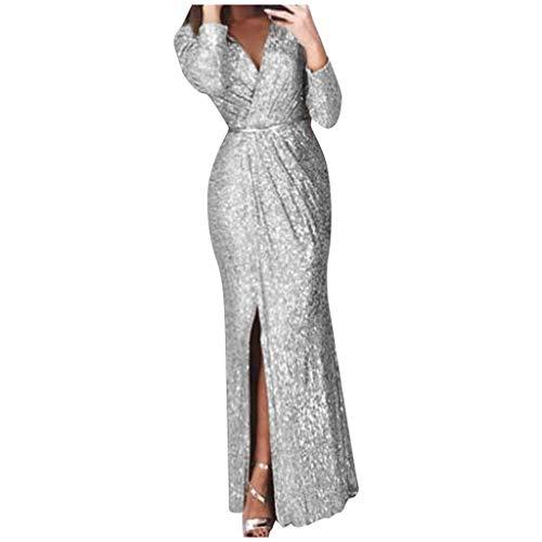 Vestiti Eleganti Da Donna.Abiti Eleganti Cerimonia Paillettes Per Abiti Da Cocktail Vestito