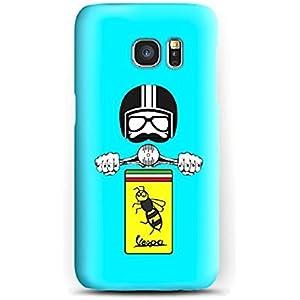 Case Cover Schutzhülle für Samsung S3, S4, S5, S6, S7, S8, A3, A5, A7, J3, Solo in vespa