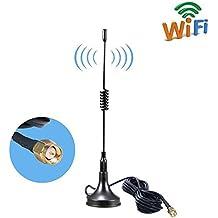 SMA Base Magnética Antenna 11DBI Alta Ganancia 4G LTE , Amplificador de Antena GSM Wifi Receptor