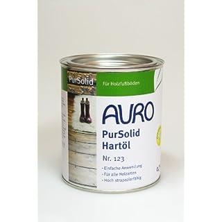 AURO PurSolid Hartöl Nr. 123 Farblos, 0,75 Liter