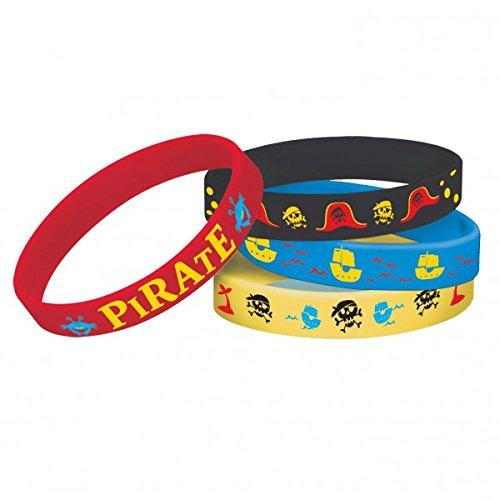 e Pirat Gummi Armbänder (Piraten Armbänder)