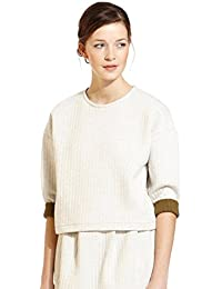Petit Bateau - Sweat shirt court - taille L