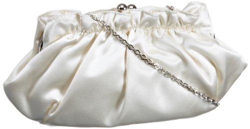 Menbur Wedding Francoise 82453 Damen Clutches 30x16x5 cm (B x H x T), Elfenbein (Ivory 04)