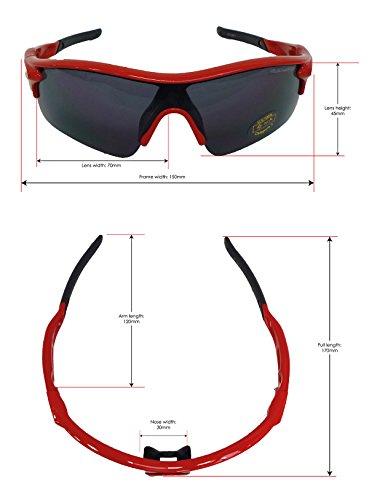 VeloChampion Warp Gafas de Sol (con 3 lentes  inc ahumado 604b2a2446c9