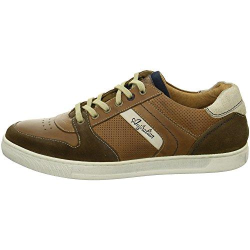 Australian Shoes 15.1171.01 Bogart, Sneaker uomo Marrone (marrone)