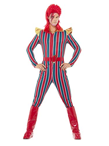 Smiffys Space Superstar Costume - become David Bowie.