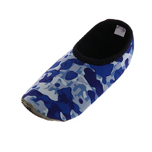 Sharplace Uomo Donne Acqua Scarpe Super Stretch Neoprene Aqua Calzini per Yoga Esercizio Piscina Spiaggia Dance Slip Surf #7