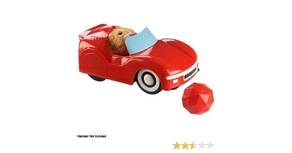 Giochi Preziosi 2819 Zhu Zhu Hamster Convertible Sports Car and Ball