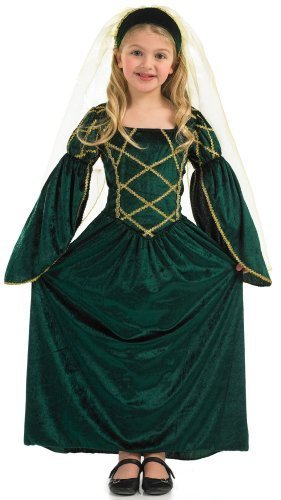 Fun Shack Child Tudor Princess Costume - AGE 10 - 12 YRS (XL) by Fun Shack