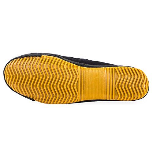 Wu Designs shuang Xing–Arti marziali–wushu–Sport & Parkour Scarpe–Minimal nero
