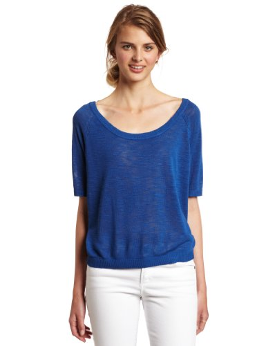 WeSC Elizabeth Strick Top True Blue blue