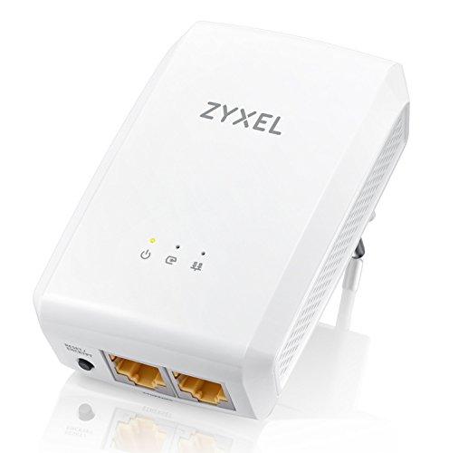 ZyXEL PLA5206 Twin Pack 1000Mbps Powerline Gigabit