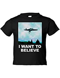 Camiseta Niño Star Trek I Want To Believe Enterprise