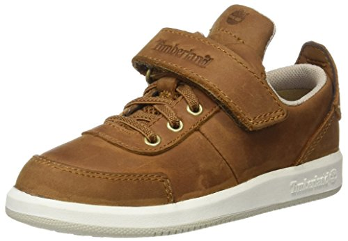 Timberland Unisex Baby Court Side Oxford Wforwardslashstraptrail Lauflernschuhe, Grün (Trail Saddleback Full Grain), 29 EU
