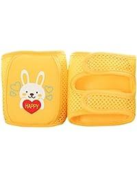 Enerhu Genouillère Enfant Respirant avec Velcro Protection Genou Bébé 32*12.5cm