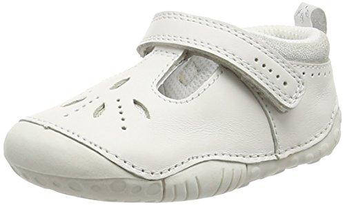 Start Rite Baby Mädchen Polly Large Krabbelschuhe White (White)