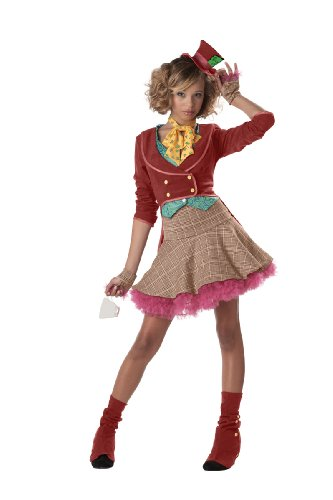 Hutmacher Alice im Wunderland Kostüm Mädchen Fasching Karneval Verkleidung