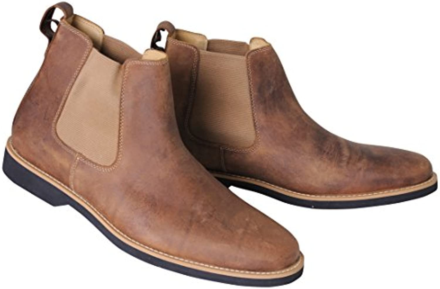 AnatomicCo Cardoso Mustang Tobacco Chelsea Boots