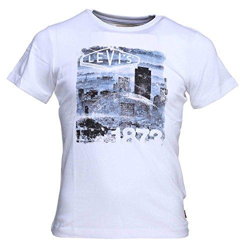 Levi's maglietta maglia t-shirt bambini ragazzi bianco 18enl1000u-01 - taglia 12 anni