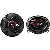 Pioneer TS-R1350S - Altavoces para coche, negro