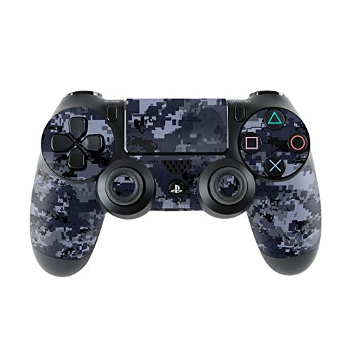 Skins4u Sony Playstation 4 Skin PS4 Controller Skins Design Sticker Aufkleber styling Set auch für Slim & Pro Camouflage styling Set auch für Slim & Pro - Digital Navy Camo