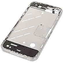 Chasis Medio Plata iPhone 4
