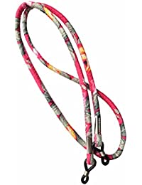 NEW Retro Floral Pink Coloured Glasses / Sunglasses Spectacle Strap Band Cord Holder Lanyard