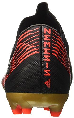 adidas Herren Nemeziz 17.3 AG Fußballschuhe schwarz / neonrot