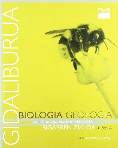 Ostadar 4 - Biologia eta Geologia 4. Gidaliburua - 9788497838771